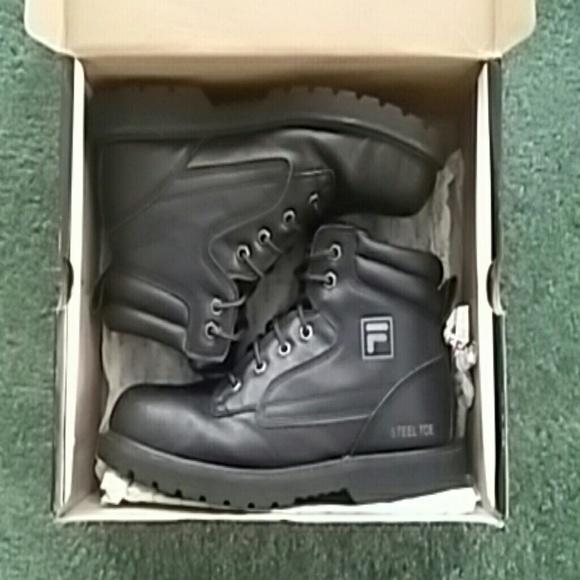 2e811a480d Fila steel toe boots